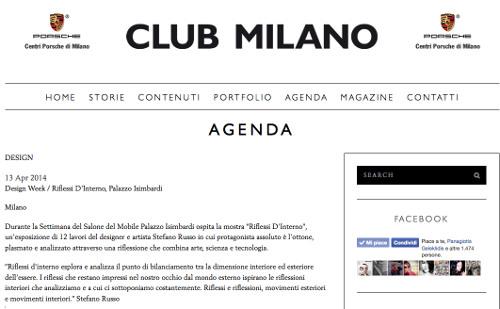 club-milano - Stefano Russo