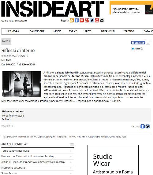 insideart - Stefano Russo
