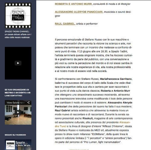 spazio-tadini-1 - Stefano Russo